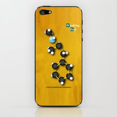 Breaking Bad Molecular Compound iPhone & iPod Skin