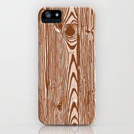 c13D Woodgrain iPhone Case