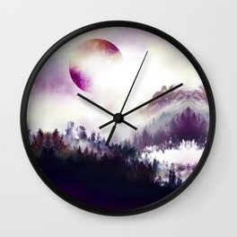 From Sky To Roots Wall Clock
