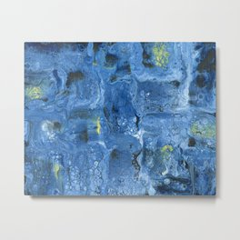 Starry Night, Deconstructed Metal Print