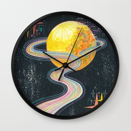 To unwind Wall Clock