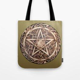 Brigid's Pentacle Tote Bag