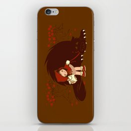 Bossy Red Riding Hood iPhone Skin