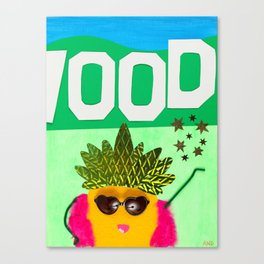 Hollywood Starfruit Canvas Print