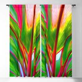 Ti Leaf Series #4 Blackout Curtain