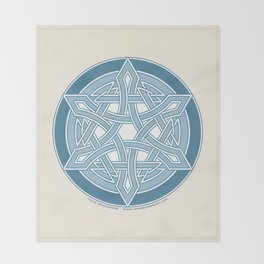 Star of David 2 Throw Blanket