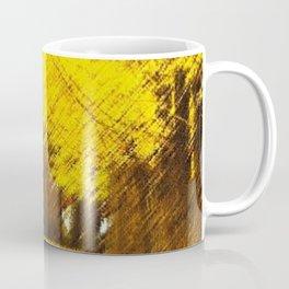 Gingko Biloba Autumn Leaves Landscape Painting by Jéanpaul Ferro Coffee Mug
