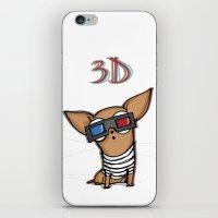 3d iPhone & iPod Skins featuring 3D by Susana Miranda ilustración