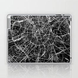 Moscow Black Map Laptop & iPad Skin
