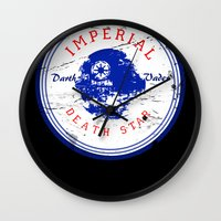 chuck Wall Clocks featuring Chuck Taylor by jastervision