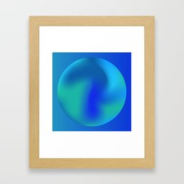Gradients_V1 Framed Art Print