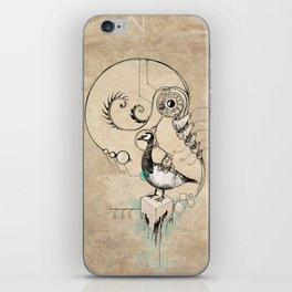 TimeLoopParadox // (metaphysical goose) iPhone Skin