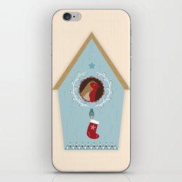 Blue Bird House iPhone Skin