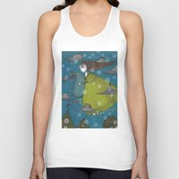 archan nair Tank Tops featuring The Sea Voyage by Judith Clay