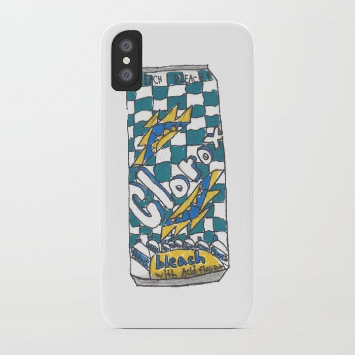 timeless design b65e8 88cfc Clorox tea iPhone Case