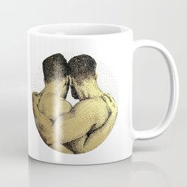 The Pair - NOODDOODs (gold doesn't print shiny) Coffee Mug