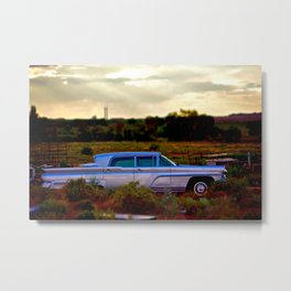 Lincoln Continental  Metal Print