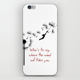 who's to say iPhone Skin