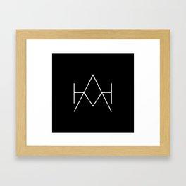 Hunter as a Horse Tee Framed Art Print