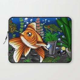 Goldfish and Terrapin Laptop Sleeve