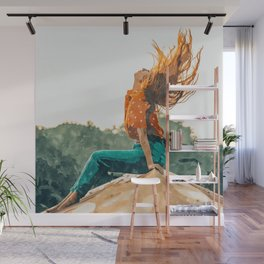 Live Free #painting Wall Mural