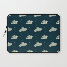 Murder in Space, She Drew pattern Laptop Sleeve