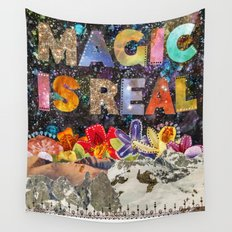Magic Is Real Wall Tapestry