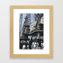Bristol Docks Framed Art Print