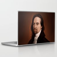 amy hamilton Laptop & iPad Skins featuring Hamilton by days & hours
