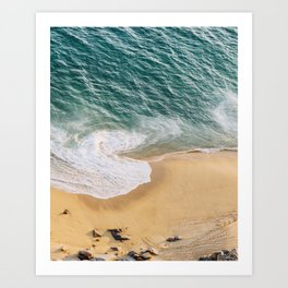 Ocean Swirl Art Print
