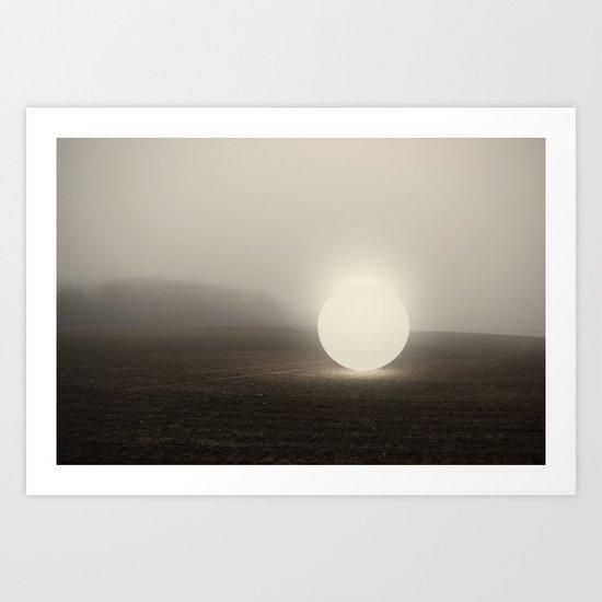 an object at rest Art Print