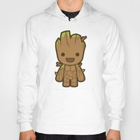 starlord Hoodies featuring Tree by Papyroo