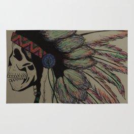 Native Skull Rug