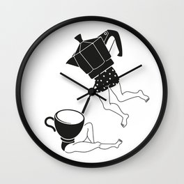 your coffee pot Wall Clock