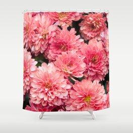 Autumn Kiss Chrysanthemums 1 Floral Art Society6 Shower Curtain