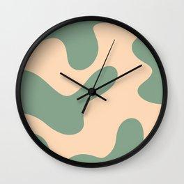 Alga Wall Clock