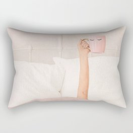 Coffe Cup Rectangular Pillow