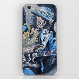 Stevie Ray Vaughn tribute iPhone Skin