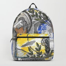 abstract nature Backpack