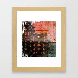 Urban Layers Framed Art Print