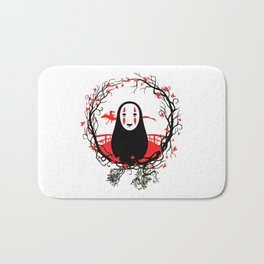 Evil Without Face Bath Mat