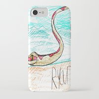 monty python iPhone & iPod Cases featuring The Python by Ryan van Gogh