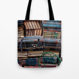 Book nook, Venice Italy Tote Bag
