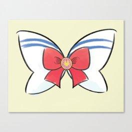 Sailor Moon Sailor Bow Canvas Print