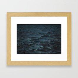 Digital Sea Framed Art Print