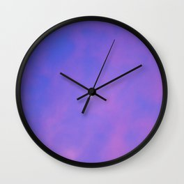 Moon Light Wall Clock