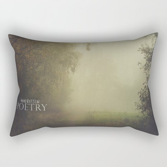 Unwritten poetry Rectangular Pillow