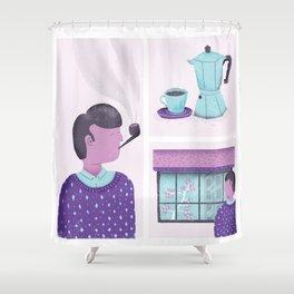 Routine Shower Curtain