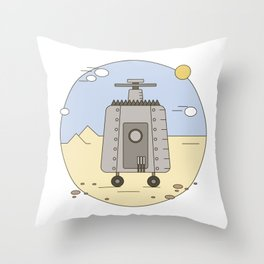 Pepelats. Russian science fiction. Throw Pillow