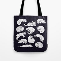 Sleeping Cats Tote Bag